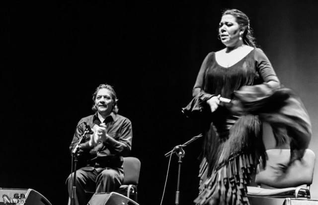 Un arranque de La Macanita, gitana de padre y madre (foto: Nuria García).