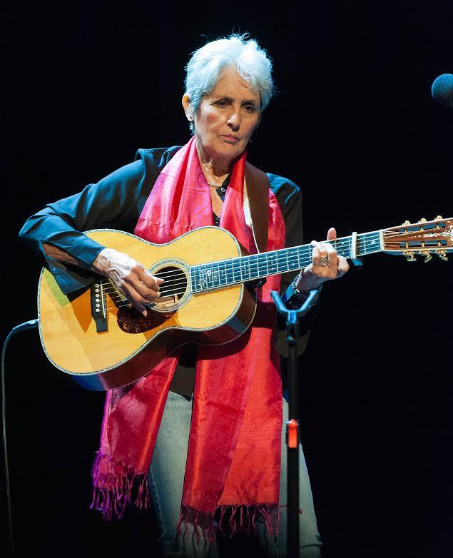 Joan Chandos Báez, segundo concierto en Bilbao (foto: Unai Nuño / Palacio Euskalduna).